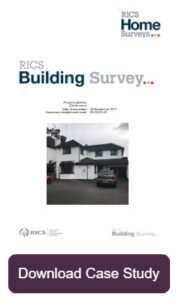 RICS Building Survey Cover case study