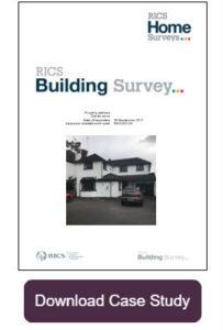 RICS Building Survey Cover case study